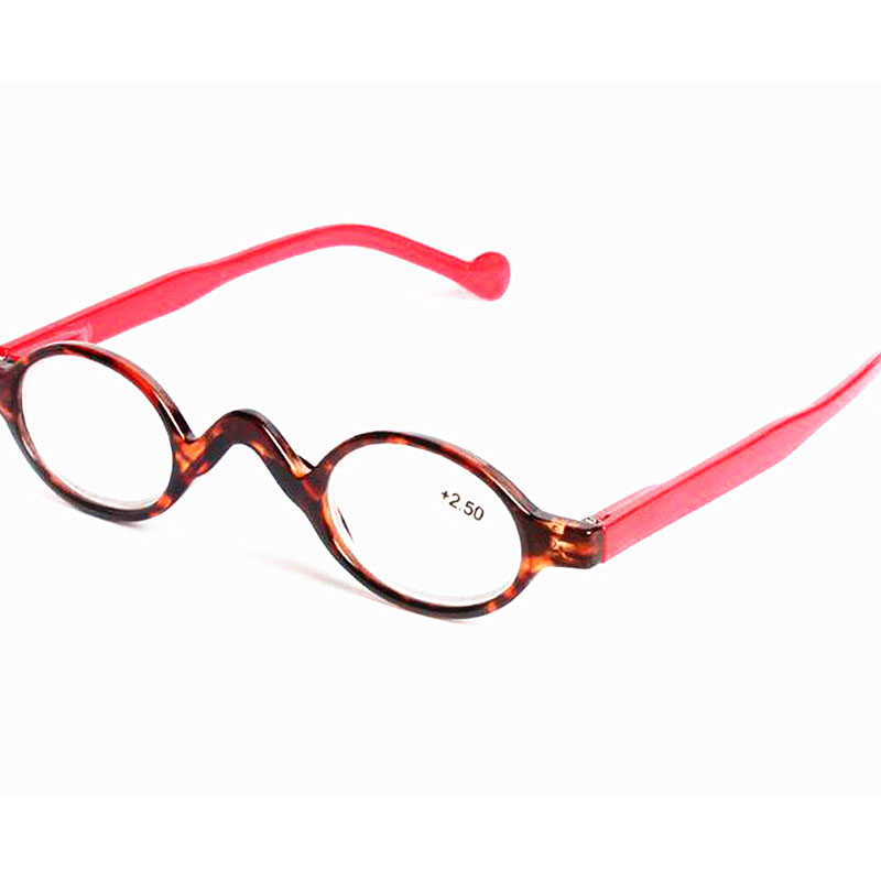 10Pcs/Lot Small Round Reading Glasses Retro Eyewear Women And Men Black Reading Glasses +1.00,+1.50,+2.00,+2.50,+3.00,+3.50