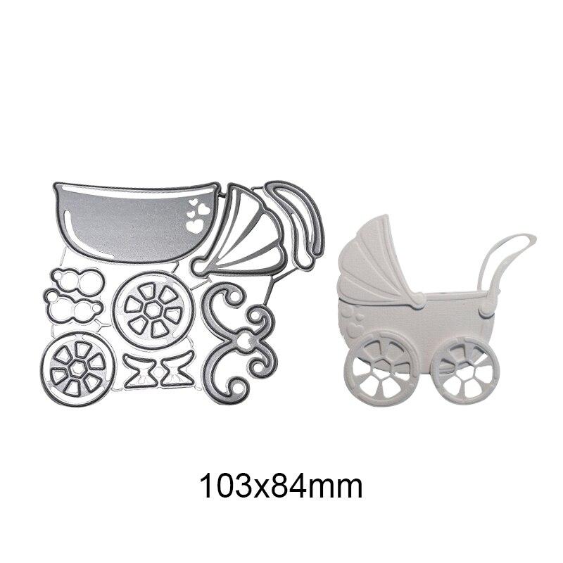 Cute child baby Metal Cutting Dies Scrapbooking Craft Dies For Stencil Embossing Scrapbook Paper Craft cards in Cutting Dies from Home Garden