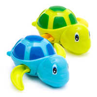 Cute Bath Toys Bath Pirate Ship Boat Toy For Toddlers Kids With Water  Clockwork on a Chain Toys Sea Animals Turtle Toys