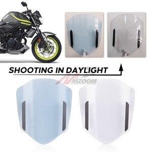 Image 3 - אוניברסלי אופנוע שמשה קדמית שמשה קדמית מתכוונן הארכת ספוילר שמשות מטה הטיה אוויר להונדה סוזוקי ימאהה KTM