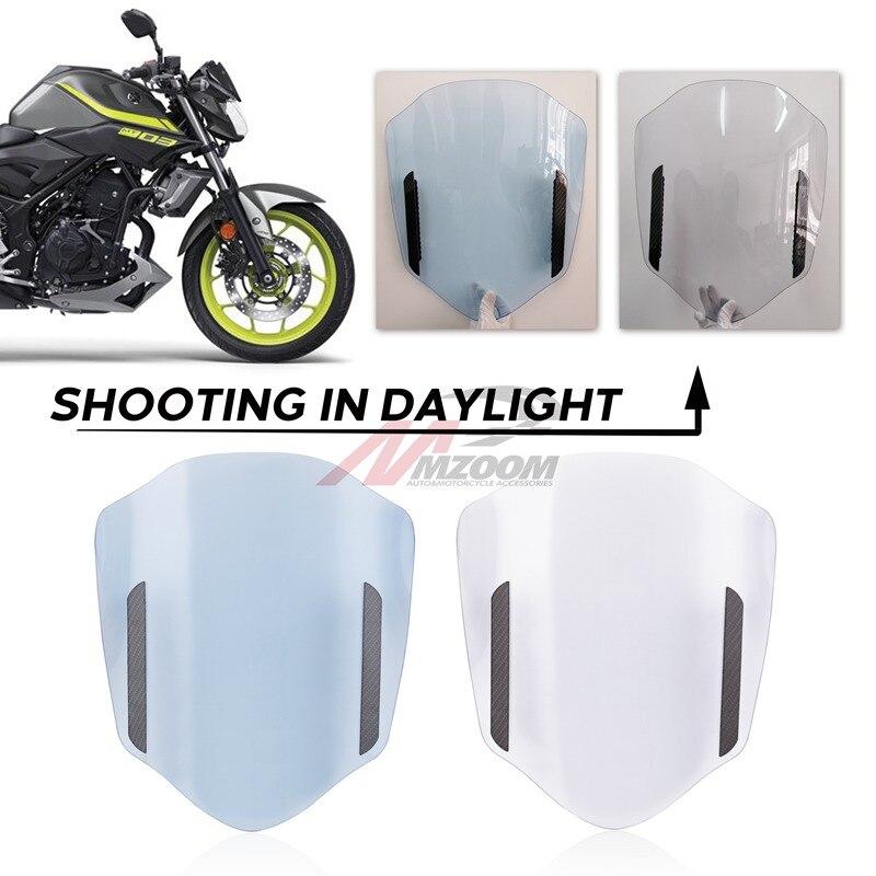 Déflecteur d'air universel de pare-brise d'extension de pare-brise de moto pour Honda Suzuki Yamaha KTM - 3
