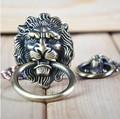 UNILOCKS Decorative Hardware Lion Head Kitchen Cabinet knob And Drawer Pull(Sizes:64mm * 52mm,Ring diameter:52mm)