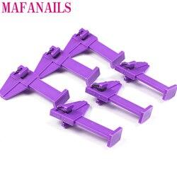 2pcs/set Nail Art Manicure Tool Kits Nails Pinch Clamp, Finger Holder Nail Gel Polish Border Bar,Nail Gel Polish Bottle Holder,