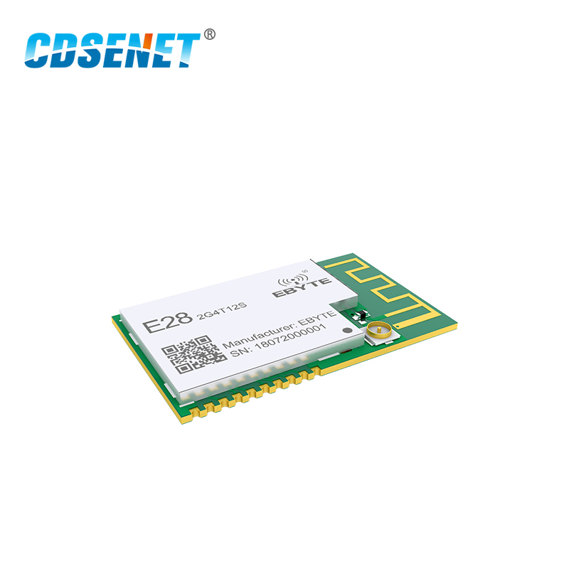 SX1280 UART 12 5dbm LoRa BLE Module 2 4 GHz Wireless Transceiver E28 2G4T12S Long Range BLE rf Transmitter 2 4GHz Receiver in Fixed Wireless Terminals from Cellphones Telecommunications