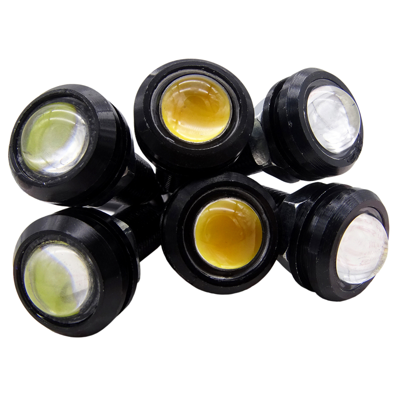 1 Pcs 18MM Car LED Eagle Eye DRL Daytime Running Light Source Backup Reversing Parking Signal Lamp Waterproof Automobile Light-in Car Light Assembly from Automobiles & Motorcycles