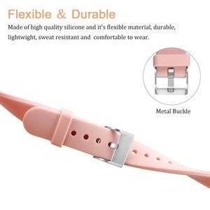 Image 2 - Bracelet Duszake pour Fitbit Versa/Versa Lite Starp Silicone souple mince mince bande de remplacement étroite pour Fitbit Versa femmes hommes