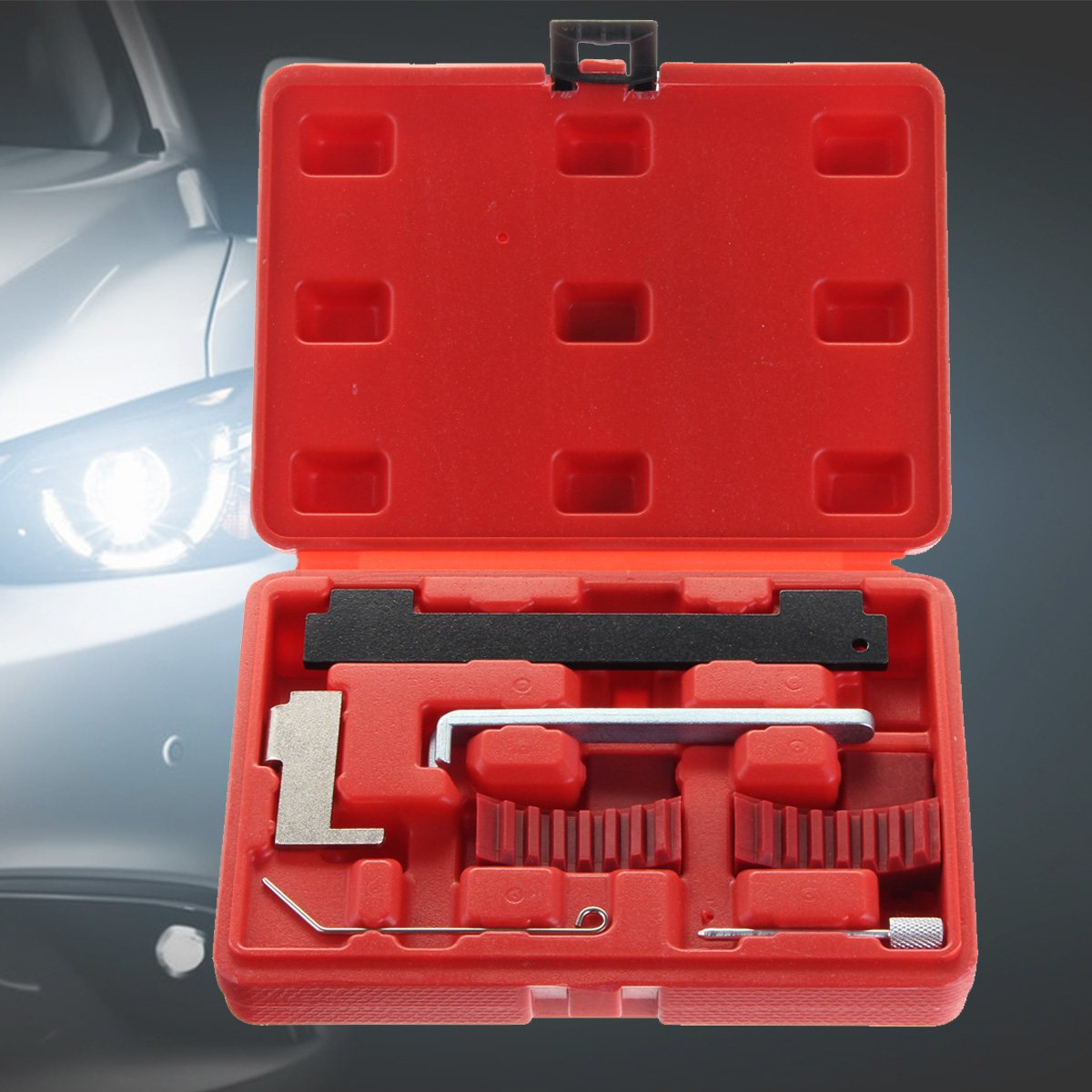 7PCs Engine Timing Tool Kit For Vauxhall Fiat Opel Alfa 1.6 1.8 16V 2003 11 Astra Corsa Vectra
