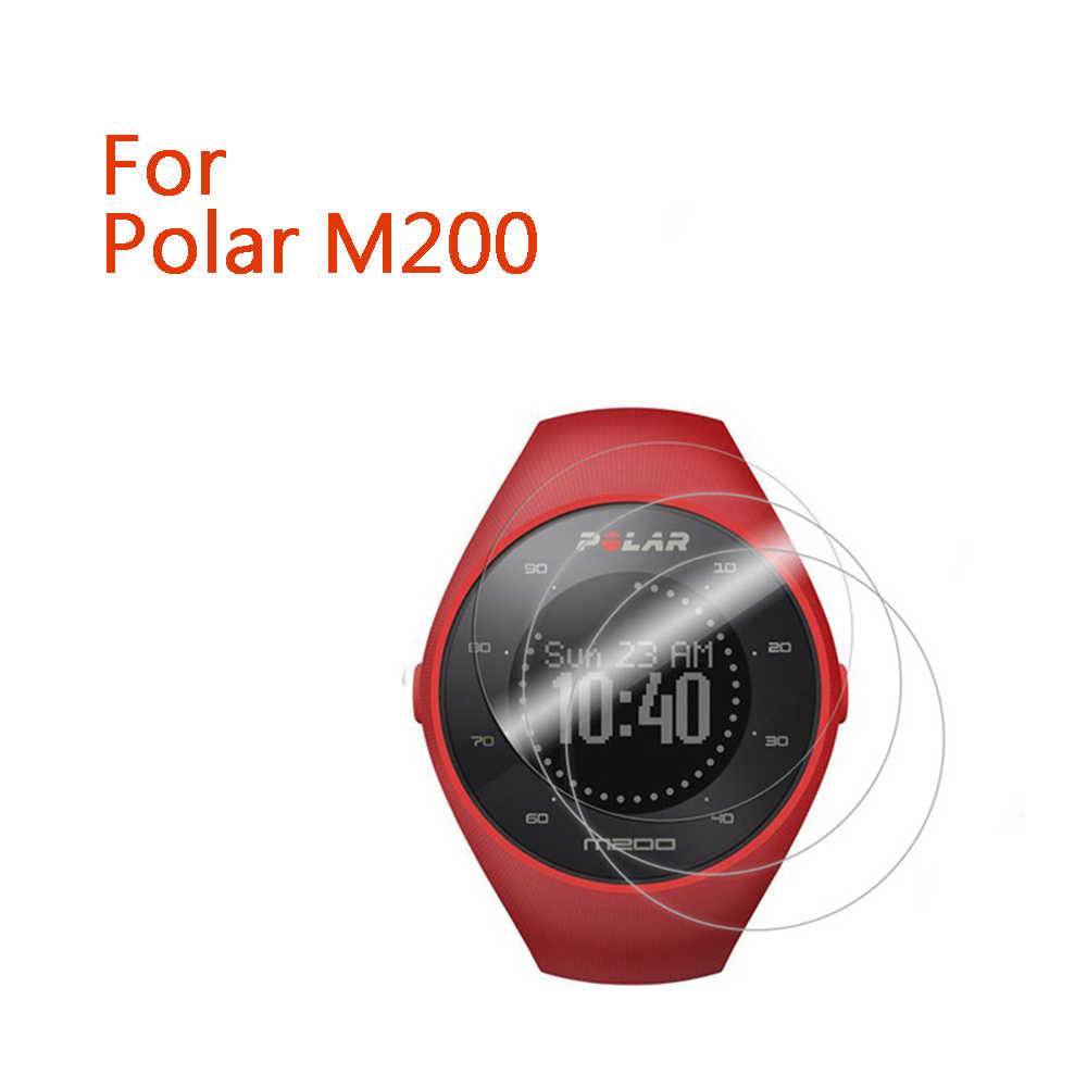 Clear LCD Screen Protector Guard Cover Soft Shield Film Skin for Polar M200 Smart Watch Accessories