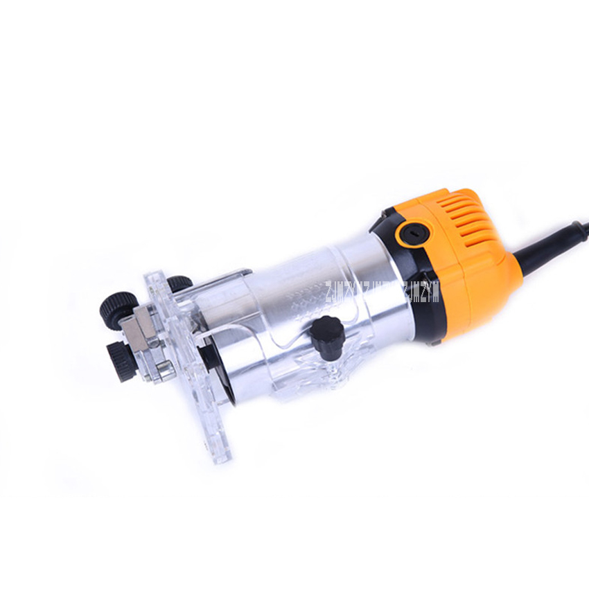 Tondeuse électrique à bois Machine à rainurer multi-fonction Machine de gravure SL 1069 en aluminium corps tondeuse 220 v 350 W 3000r/min - 3