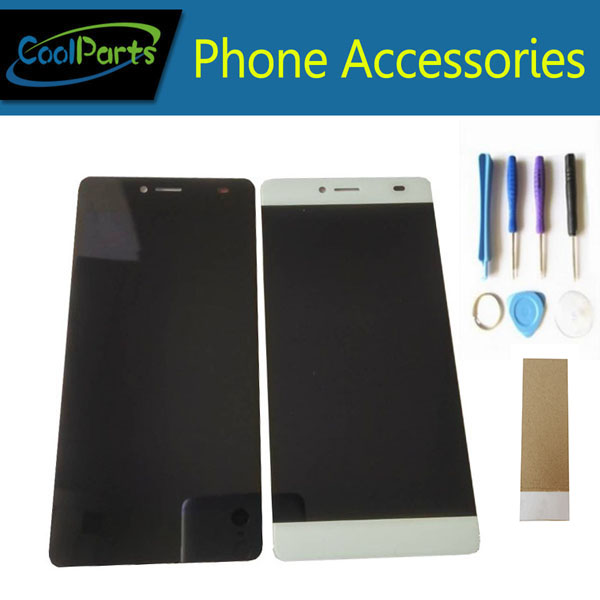 1PC/Lot High Quality For BQ BQS-5070 BQS 5070 Magic LCD Display Screen And Touch Screen Assembly Black White Color +Tool&Tape
