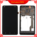 5.5 inch Black For Lenovo S856 LCD Display Touch Screen Digitizer Assembly Free Tools