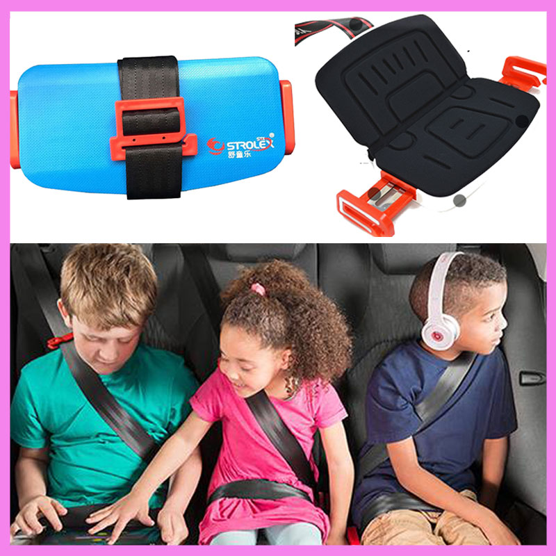 Strolex Mini Folding Portable Children Car Safety Seat Automotor Kids Baby Safety Seat Cushion 3 12