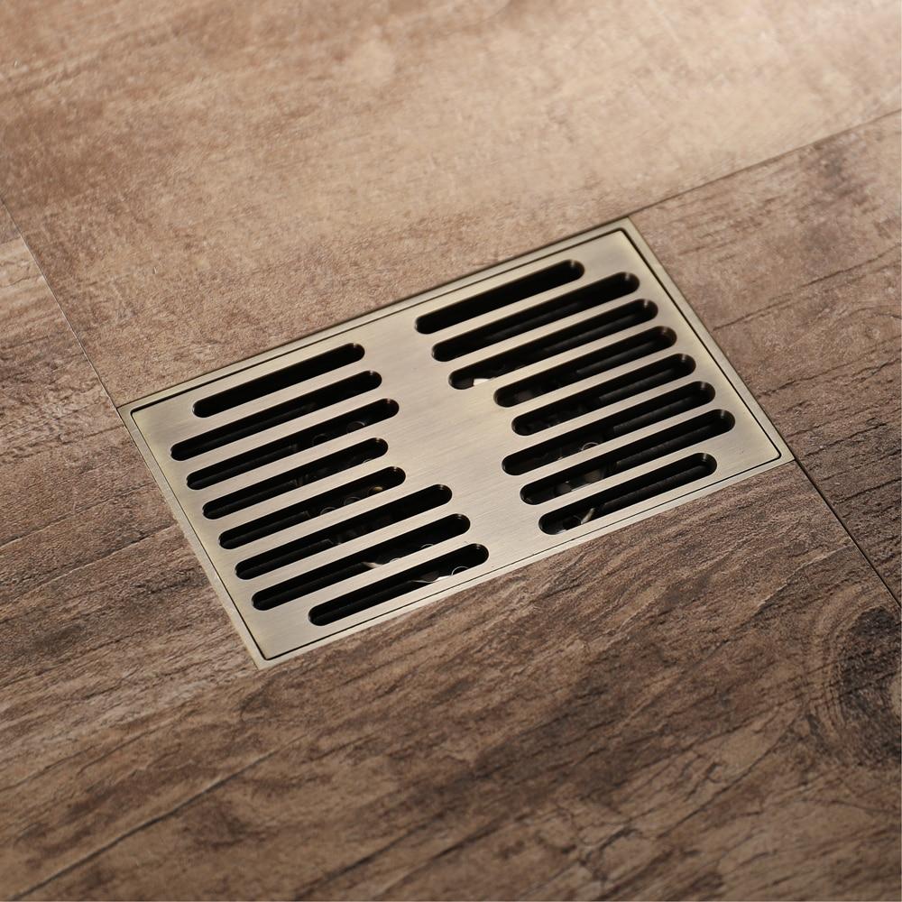 HIDEEP Home Improvement Bathroom Fixture Bathroom Sink & Bathtub Accessories Drains Brass Deodorant Bathroom Shower Floor Drain