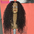 Hot New Deep Parting 13x6 Lace Front Wig Curly Glueless Full Lace Wig Curly Human Hair Wigs with Baby Hair Bleached Knots