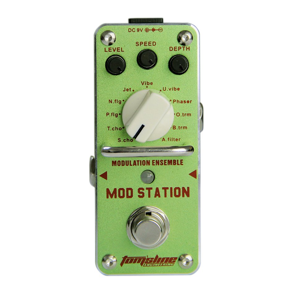 Aroma AMS-3 MOD STATION Guitar Effect Pedal Ensemble Guitar Pedal True Bypass Guitar Accessories new effect pedal mooer solo distortion pedal full metal shell true bypass