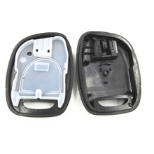 No Battery Position 1 Big Button Car Replacement Blank Key Shell For Renault Clio Fluence Logan Duster Remote Case Cover Fob