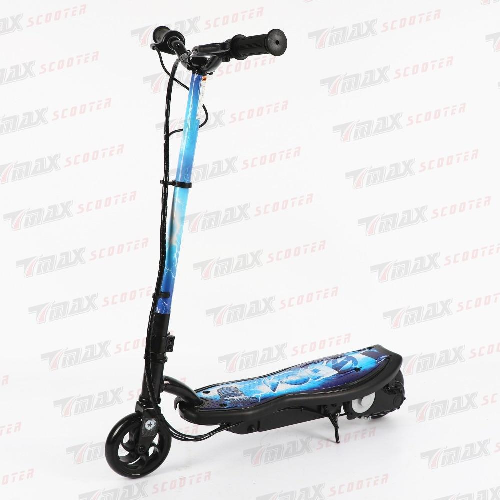 Prix pour Nouveau 2016 Cadeau De Noël 100 W 24 V Enfants Électrique Scooter Pliable Stunt Debout Scooter Deux roues Électrique Enfants Scooter