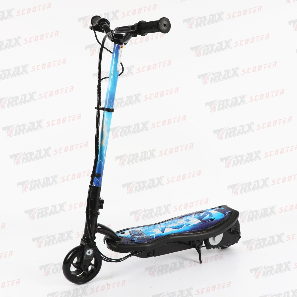 Nouveau 2016 cadeau de noël 100 W 24 V enfants Scooter électrique pliable cascadeur debout Scooter deux roues électrique enfants Scooter