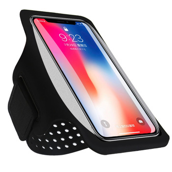 Haissky Running Sport Phone Case On Hand Armband For Samsung S10 S9 S8 iPhone X Xs Xr 6 7 8 Plus Phone holder Brassard Arm band 1