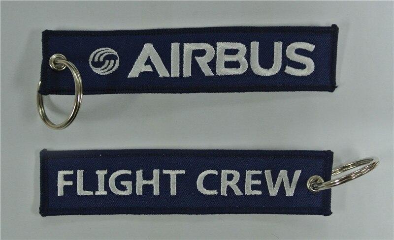 Вышитые брелок Airbus экипаж