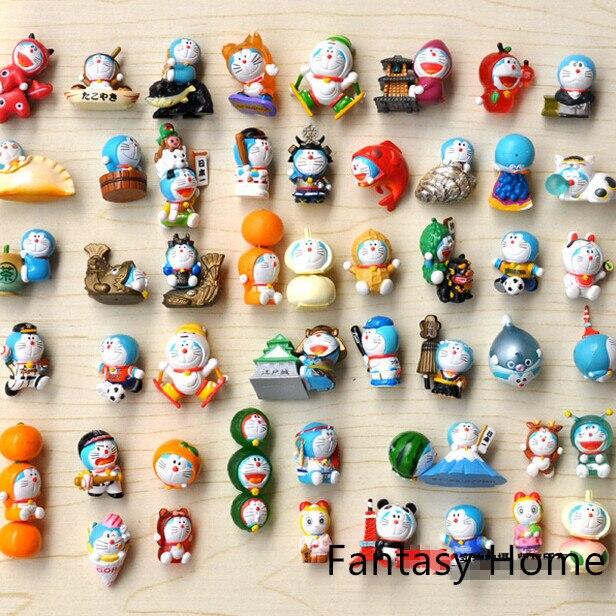 doraemon toys classic viny pvc resin 50pcs lot doraemon anime action