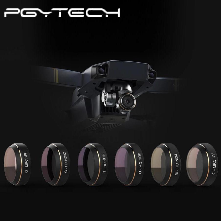 PGYTECH opcional DJI MAVIC PRO CPL filtro UV ND4 ND8 ND16 accesorios Mavic Pro Cámara Len filtro