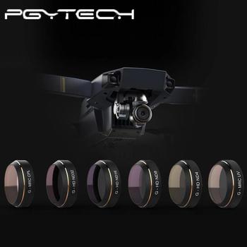 PGYTECH opcjonalny filtr profesjonalny DJI MAVIC CPL UV ND4 ND8 ND16 akcesoria filtr aparatu Mavic Pro Len tanie i dobre opinie For DJI Mavic Pro 0 0013kg Drone pudełka