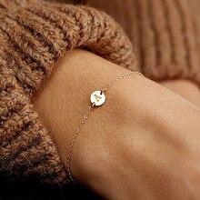 ZHOUYANG женский браслет, трендовые простые регулируемые браслеты цвета розового белого золота, модные ювелирные изделия KAH040