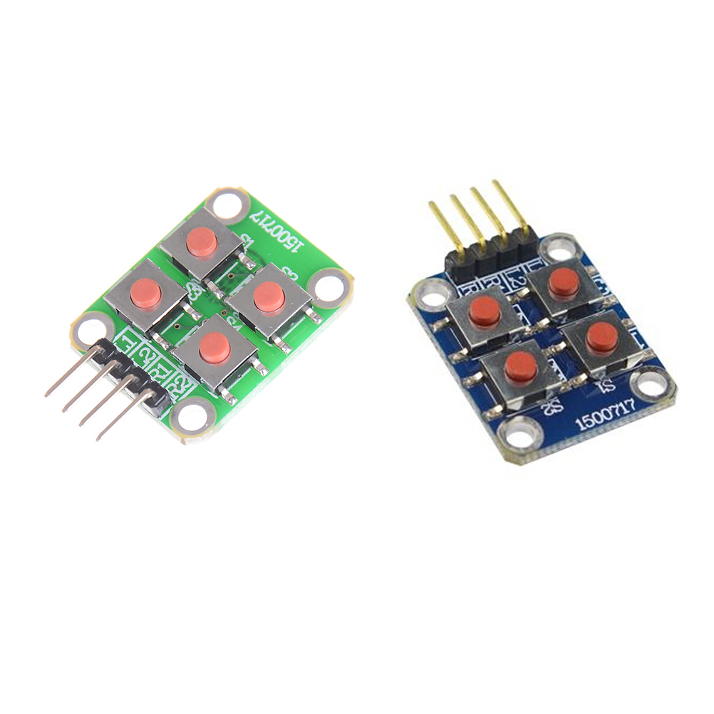 1PCS 4 Keyboard Board Module 4 Button Tactile Switch For Arduino