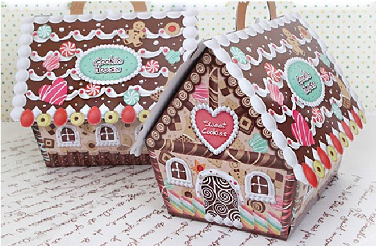 aliexpresscom buy new arrival christmas house candy boxchristmas gingerbread house box cake cookie pouchdecoration from reliable box box suppliers on - Christmas Candy Boxes
