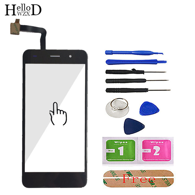 5 Touch Screen TouchScreen Panel For Fly Cirrus 13 FS518 FS 518 Touch Screen Digitizer Panel Repair Parts Sensor Front Glass