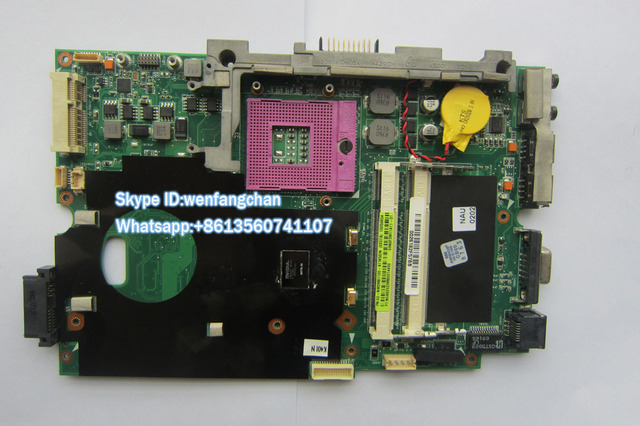 New Laptop Motherboard For K50IN 15.6 inch laptop 60-NW3MB1100-A11 69N0F3M11A11 K40IN MAIN BOARD