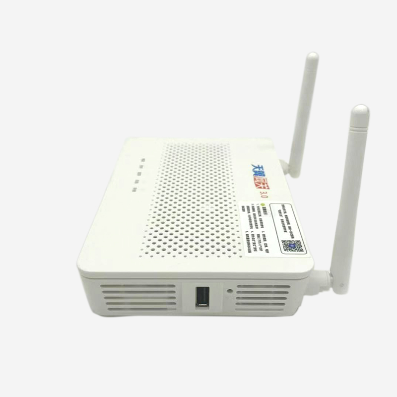 100% new Huawei GPON ONU HS8145C5 ftth Fiber optic EPON ONT mini huawei  router with 1ge+3fe+wifi+usb+voice English vershion