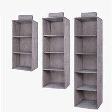 Cajón estantes colgantes organizador de guardarropa caja de almacenamiento Zapatos Ropa para dormitorio SKD88