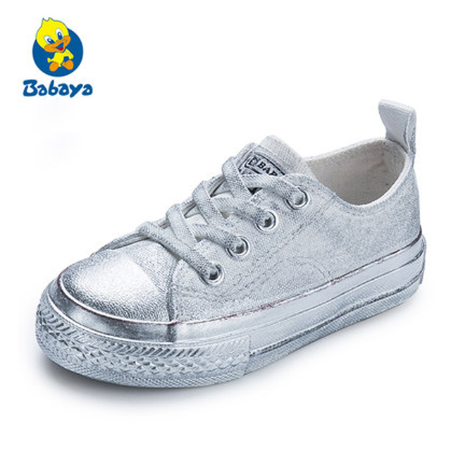 26fa5aef Aliexpress.com : Buy Children shoes girls sneaker 2018 Spring Autumn Candy  color Lace Up Child canvas shoes Boys yellow red White Kids shoes for girl  from ...