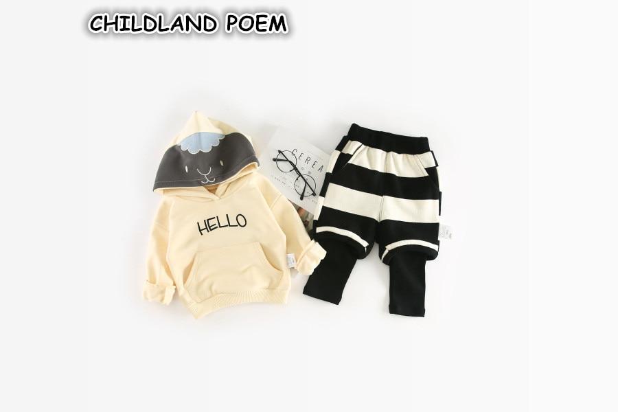 Baby Boy Tracksuit Spring Toddler Boys Clothing Set Newborn Baby Clothes set Hoodies Sweatshirt + Pants 2 Pcs Baby Sets Boys 2pcs set baby clothes set boy