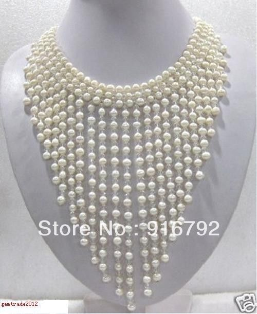 free shipping >>>>>New Genuine Pearls Hand-woven wedding/Party/Ball/Gift necklacesfree shipping >>>>>New Genuine Pearls Hand-woven wedding/Party/Ball/Gift necklaces