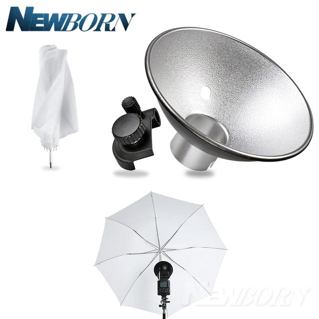 Godox AD-S6 Umbrella-style Flash Diffuser Reflector +Folded Diffuser for Witstro Flash AD180 AD360 Photography Accessories