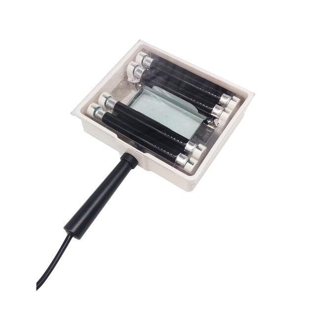 Machine danalyseur de grossissement dexamen de test de peau faciale danalyseur UV de peau de lampe avec léquipement de couverture de protection