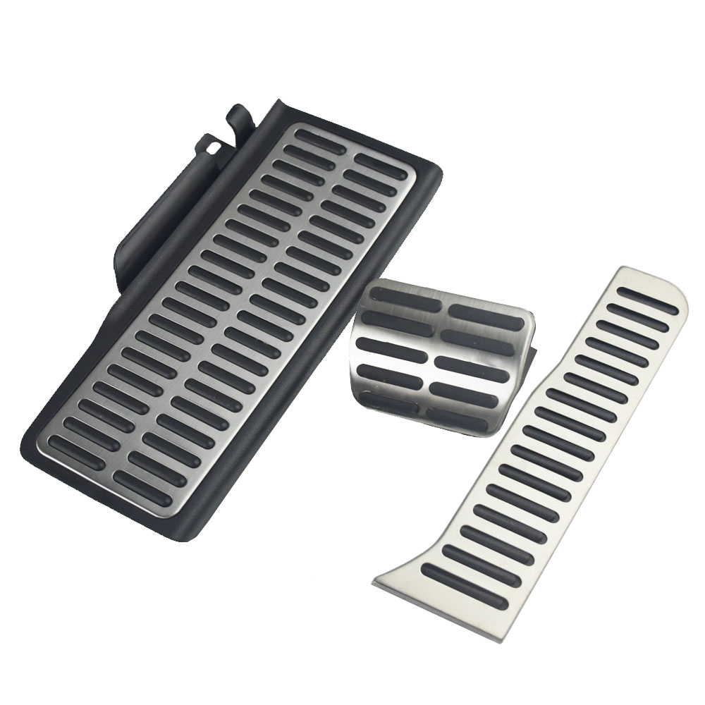 Stainless Steel Car Pedal Car Accessories For Vw Passat B6 B7 Cc For Skoda Superb AT / MT