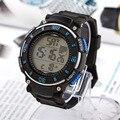 El Patrón Actual de Los Estudiantes Relojes Digitales multifunción de Silicona Para Hombre Deporte 3 Bar Impermeable Alarma Cronógrafo Relojes Niños Regalos