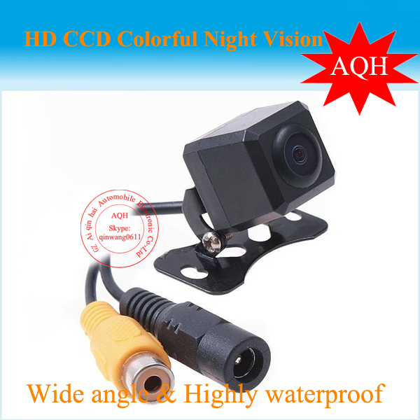 Free Shipping Waterproof Car Rear View HD Camera Reverse Backup 170 degree Wide Angle vehicle New