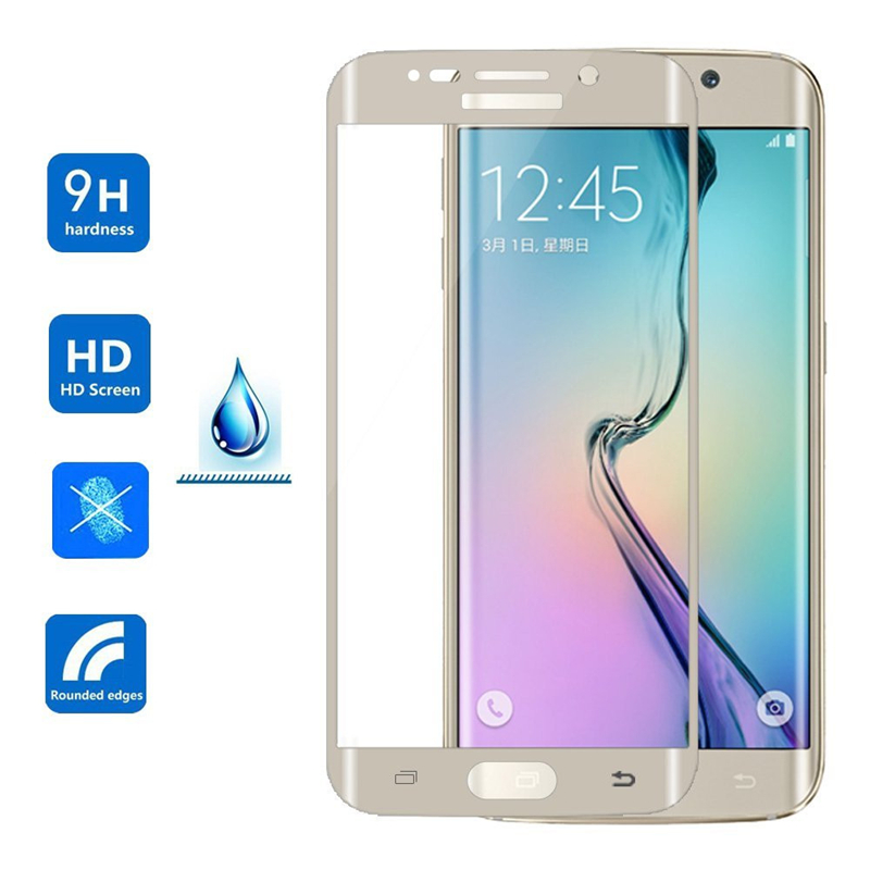 3D HD Full Coverage Protective Film Plastics Curved for Samsung Galaxy S6 Edge Plus S6edge Screen Protector Y Fundas Curv Cover