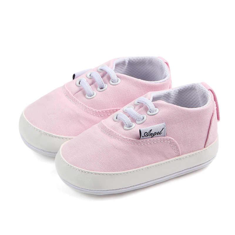 U.Z. Новинка; милая обувь для маленьких девочек; нескользящая детская повседневная парусиновая обувь для ползунков