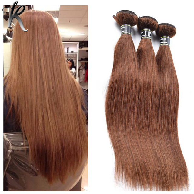 Cheap Malaysian Straight Hair Online 4 Light Brown Virgin Human