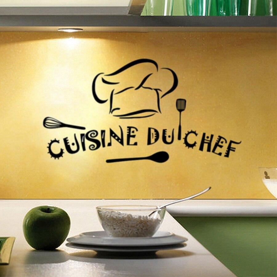 Cuisine sticker promotion achetez des cuisine sticker - Sticker mural cuisine ...