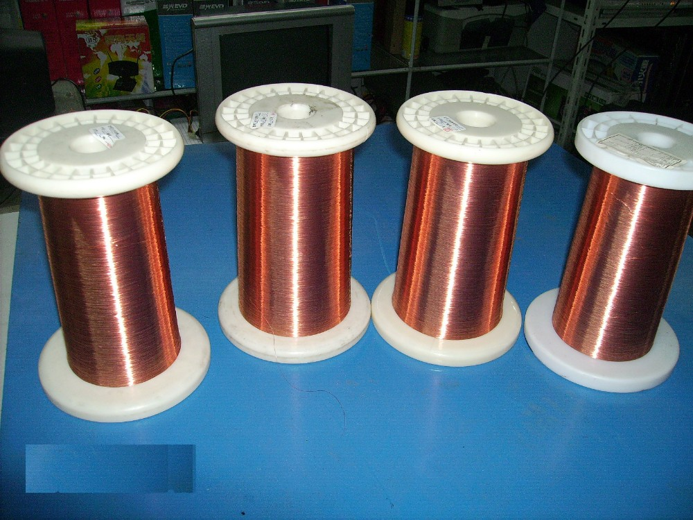 0.13MM~2.50MM Many Size 1000gram/roll Polyester Enameled Copper wire ...