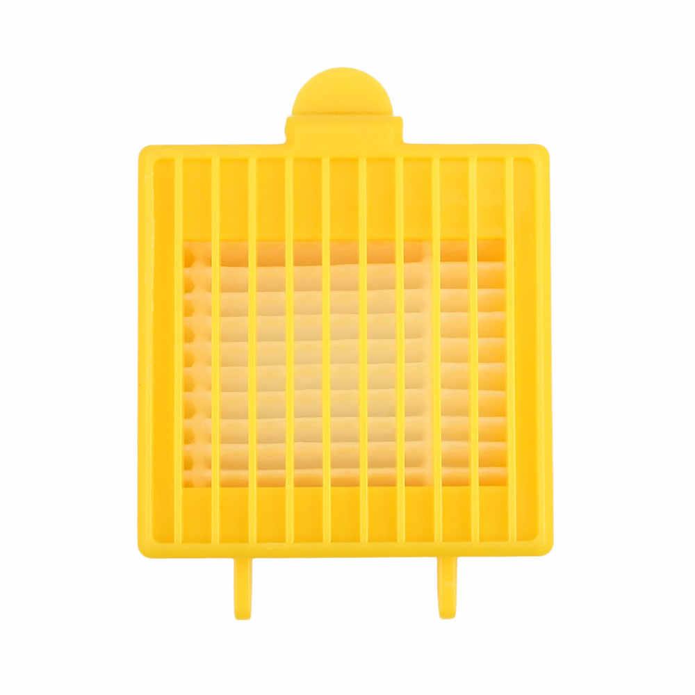 Прочный HEPA фильтр наборы губок подметания робот Замена пылесос аксессуары желтый пылезащитный основной фильтр