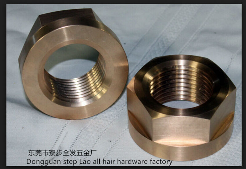 Custom machining nut    parts , Can small orders, Providing samples