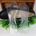 The new 3/4 Gel Lady Insoles Massaging High Heel Protector For Women Shoes Arch Support Orthopedics Feet Care